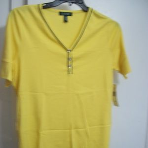 RALPH LAUREN PLUS SIZE TOP